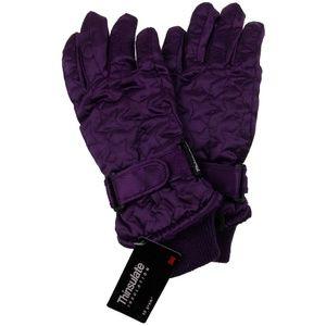 Joe Boxer Gloves Girls Quilted Winter Purple 3M